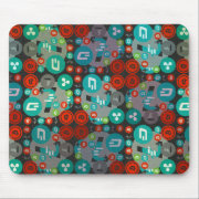 Cryptocurrency funny pattern mouse pad