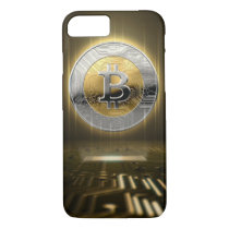 Cryptocurrency Hologram And Circuit Board iPhone 8/7 Case