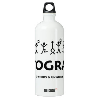 Cryptographer (Dancing Men Stick Figures) SIGG Traveler 1.0L Water Bottle
