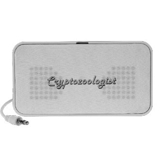Cryptozoologist Classic Job Design Portable Speakers
