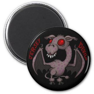 CRYPTOZOOLOGY: Jersey Devil 2 Inch Round Magnet