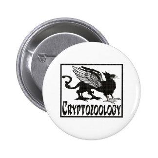 Cryptozoology Pin Redondo 5 Cm
