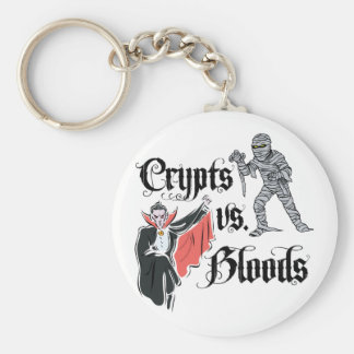 Crypts Vs Bloods Key Chain