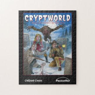 CRYPTWORLD game cover 10x14 Puzzle
