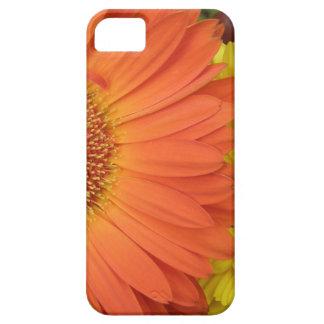 Crysanthemum anaranjado y amarillo iPhone 5 Case-Mate fundas