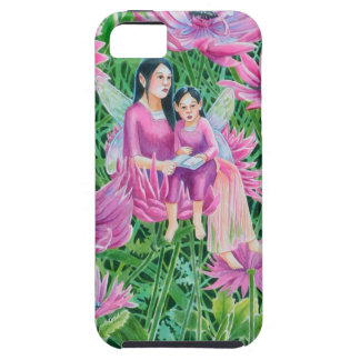 Crysanthemum Fairy Mum and Child iPhone SE/5/5s Case