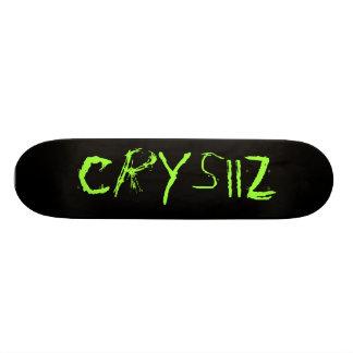 CrYsiiZ Skateboard Deck