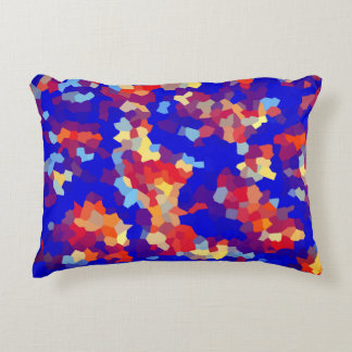 Crystal Abstract Pattern Accent Pillow