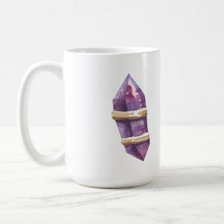 Crystal And Feather Coffee Mug