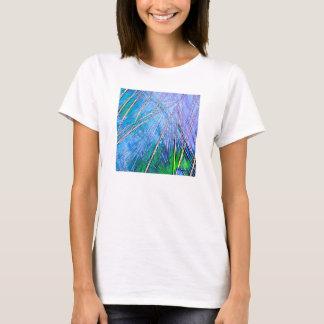 Crystal Art:  Blue Crystal T-Shirt