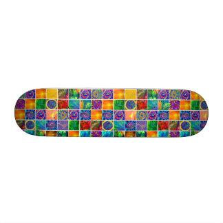 Crystal Art Quilt Skate Decks