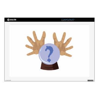"""Crystal Ball 17"""" Laptop Skins"""