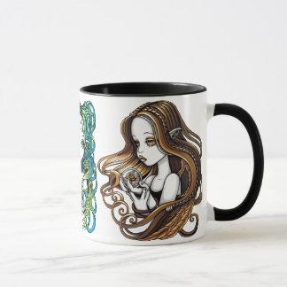 Crystal Ball Angels Fantasy Art Mug