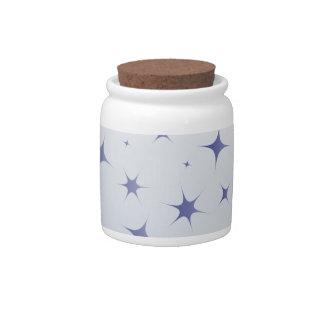 Crystal Ball Candy Jars