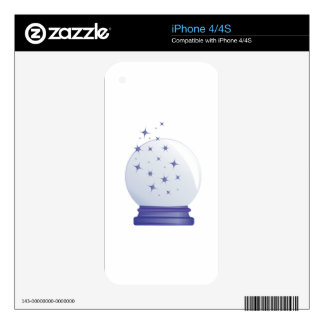 Crystal Ball Decal For The iPhone 4S
