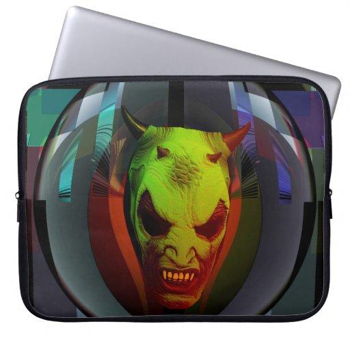 Crystal Ball Demon Computer Sleeves