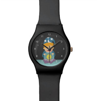 Crystal Ball Fortune Teller Think Positive Watch