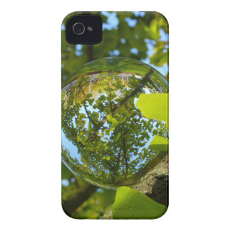 Crystal Ball in Gingko tree iPhone 4 Case-Mate Case