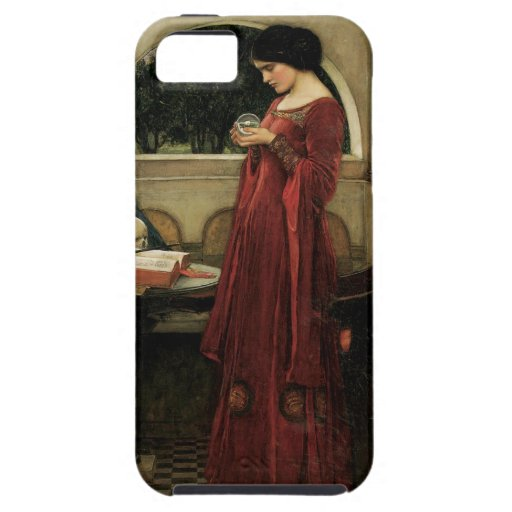 Crystal Ball, JW Waterhouse, Vintage Victorian Art iPhone 5 Case