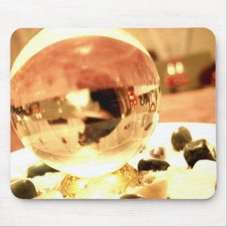 crystal ball mouse pad