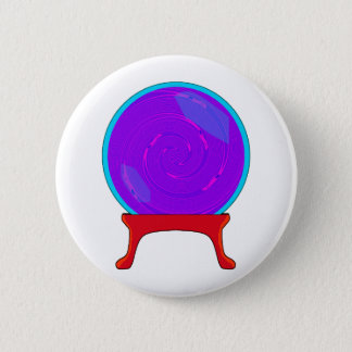 Crystal Ball Pinback Button
