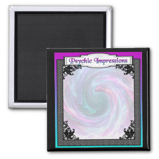 Crystal Ball!  Psychic Impressions and Dreams Magnet