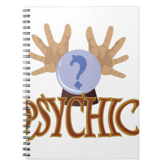 Crystal Ball Psychic Notebook