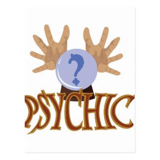 Crystal Ball Psychic Postcard