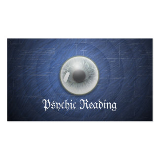 Crystal Ball Psychic Reading Blue Business Card