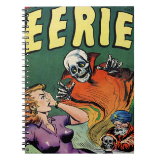 Crystal Ball Scare Spiral Notebook