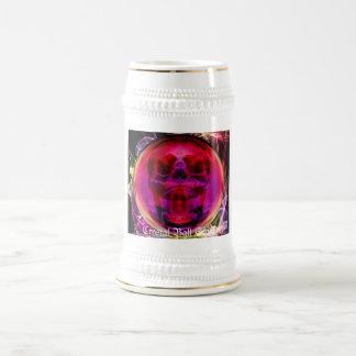 Crystal Ball Skull Beer Stein