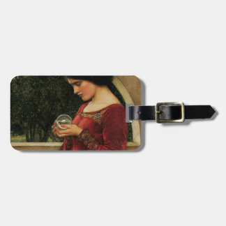Crystal Ball Waterhouse Painting Magic Fantasy Bag Tag