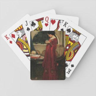 Crystal Ball Waterhouse Painting Magic Fantasy Playing Cards