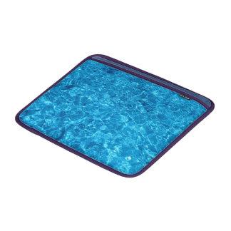 Crystal Beach Water on Macbook Air 13 Horizontal MacBook Air Sleeve