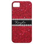 Crystal BLING RUBY RED IPHONE  5 Case iPhone 5 Case