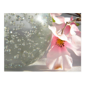 Crystal Blossoms Postcard