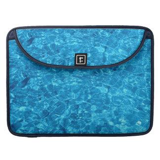 Crystal Blue Beach waters on Macbook Pro 15 MacBook Pro Sleeves