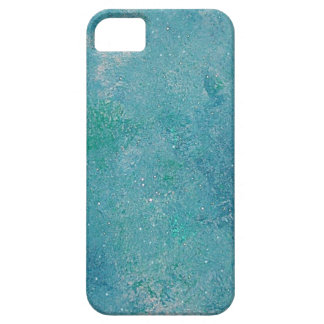 Crystal Blue Sky Aqua Abstract Art iPhone 5 Case