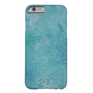 Crystal Blue Sky Aqua Abstract Art iPhone 6 case