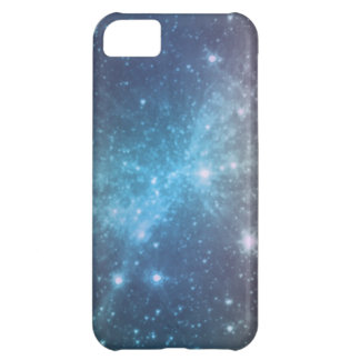 Crystal Blue Space Art iPhone 5C Cover