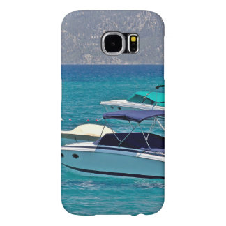 Crystal Blue Water And Two Boats Samsung Galaxy S6 Case