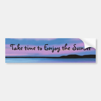 Crystal Blue Water Bumper Sticker