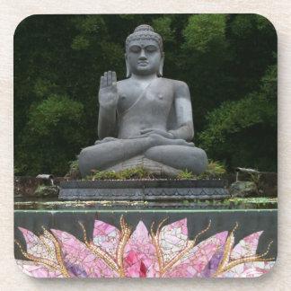 Crystal Buddha Cork Coaster