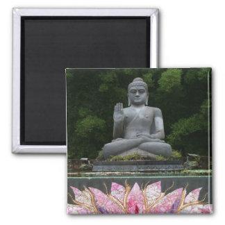 Crystal Buddha Magnet