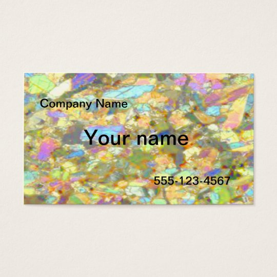 Crystal business card template