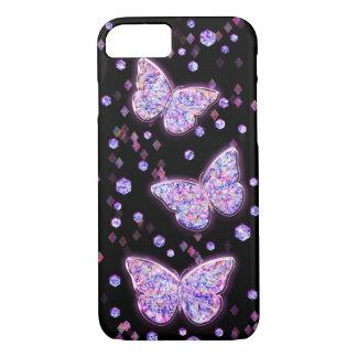 Crystal Butterflies iPhone 8/7 Case