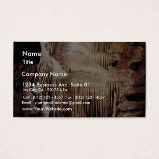 Crystal Cave Business Card