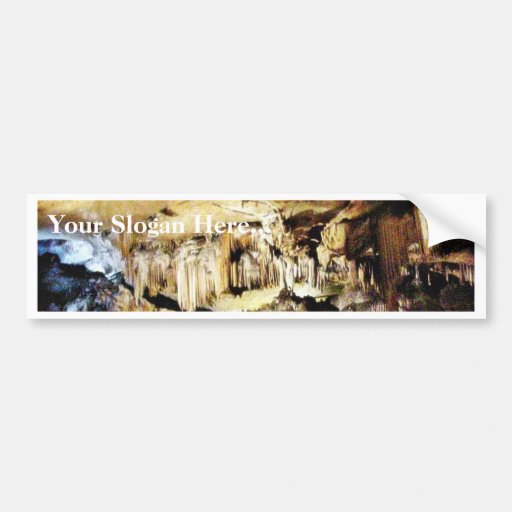 Crystal Caves In Dark Bumper Stickers