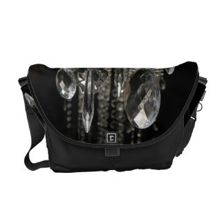 Crystal Chandelier Chic Glass Glitz Bag Tote Purse Courier Bag
