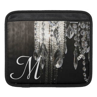 Crystal Chandelier Chic Monogram IPAD Laptop Bag Sleeve For iPads